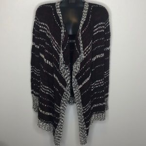 ROMEO+JULIET COUTURE open waterfall cardigan M
